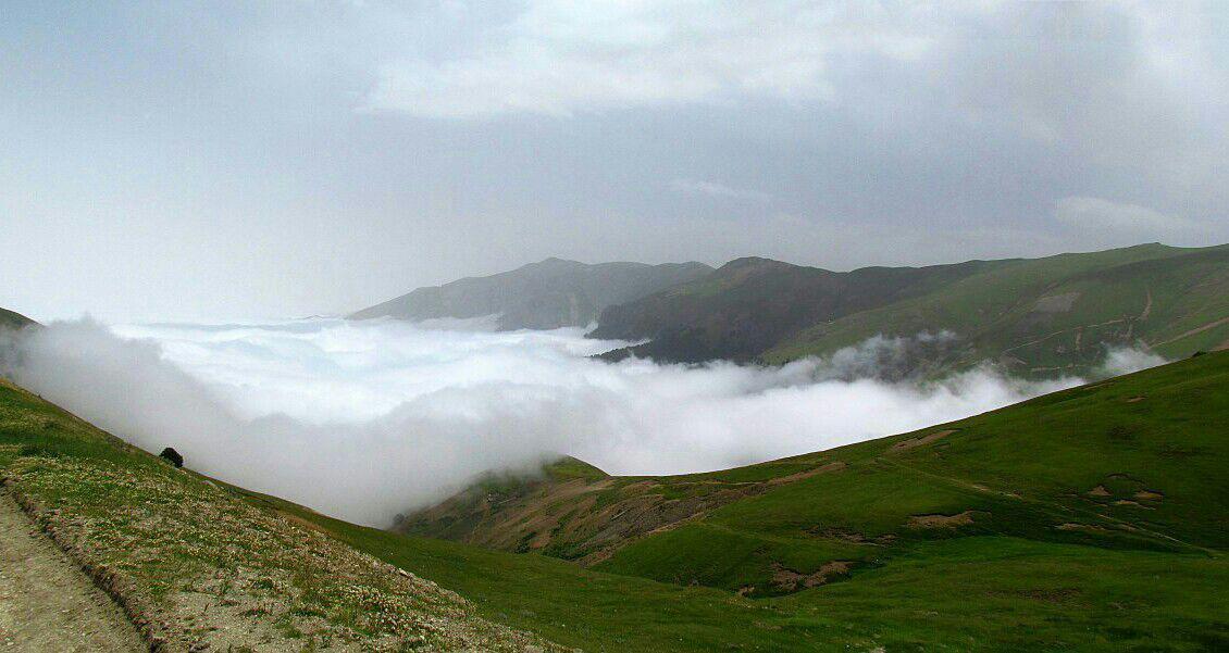 ارتفاعات ماسوله مرز بین استان اردبیل و گیلان و زنجان