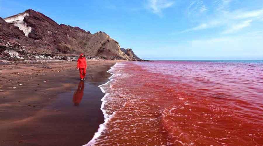 جزیره هرمز در خلیج فارس