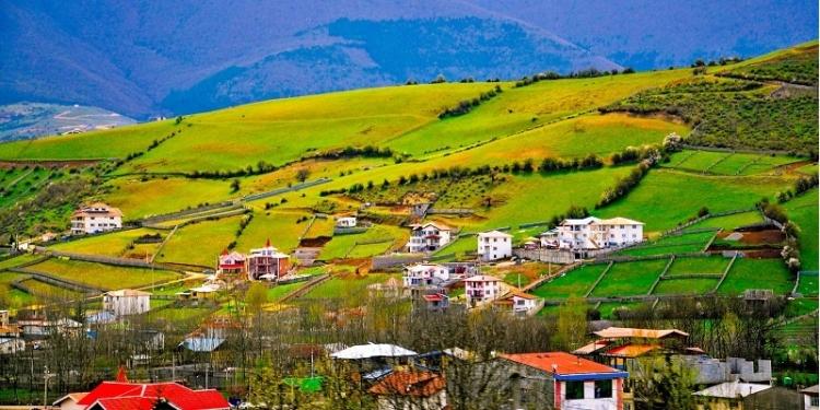 روستای سنار در مازندران زیبا