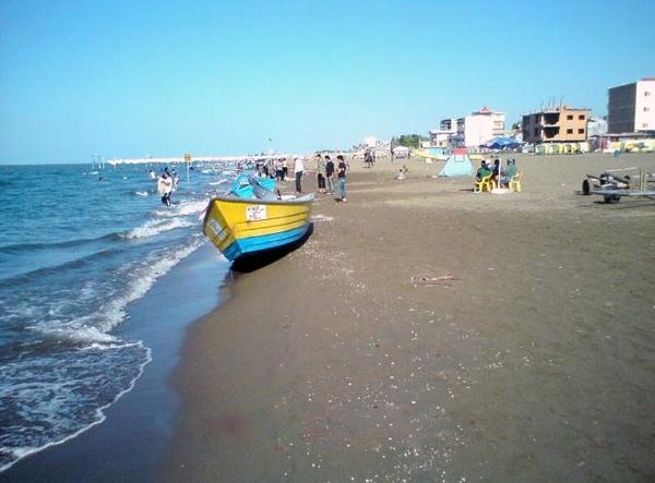 محمودآباد شهر ساحلی در استان مازندران