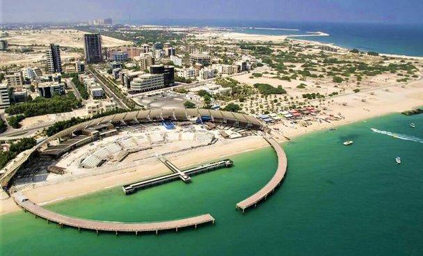 جزیره کیش در خلیج فارس