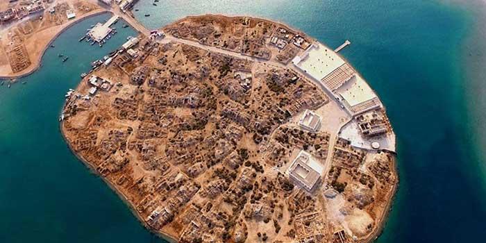 جزیرۀ سیری در خلیج فارس
