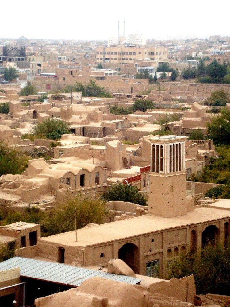 محله زرتشتیها در یزد