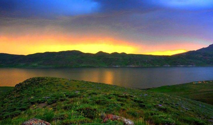 نئور بزرگترین دریاچه اردبیل