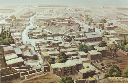 نقاشی روستای پاژ