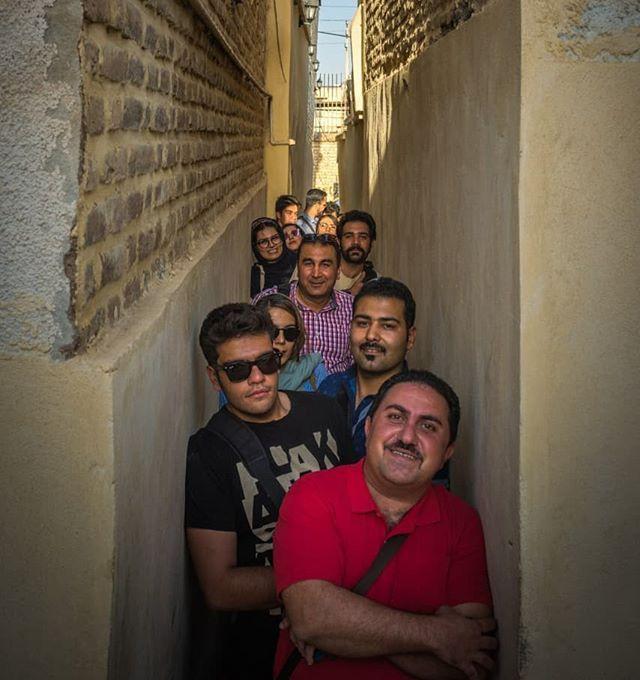 کوچه قهر و آشتی در شیراز