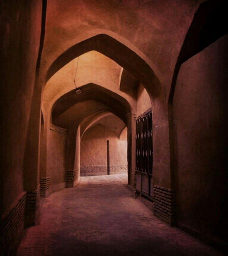کوچه قهر و آشتی در یزد