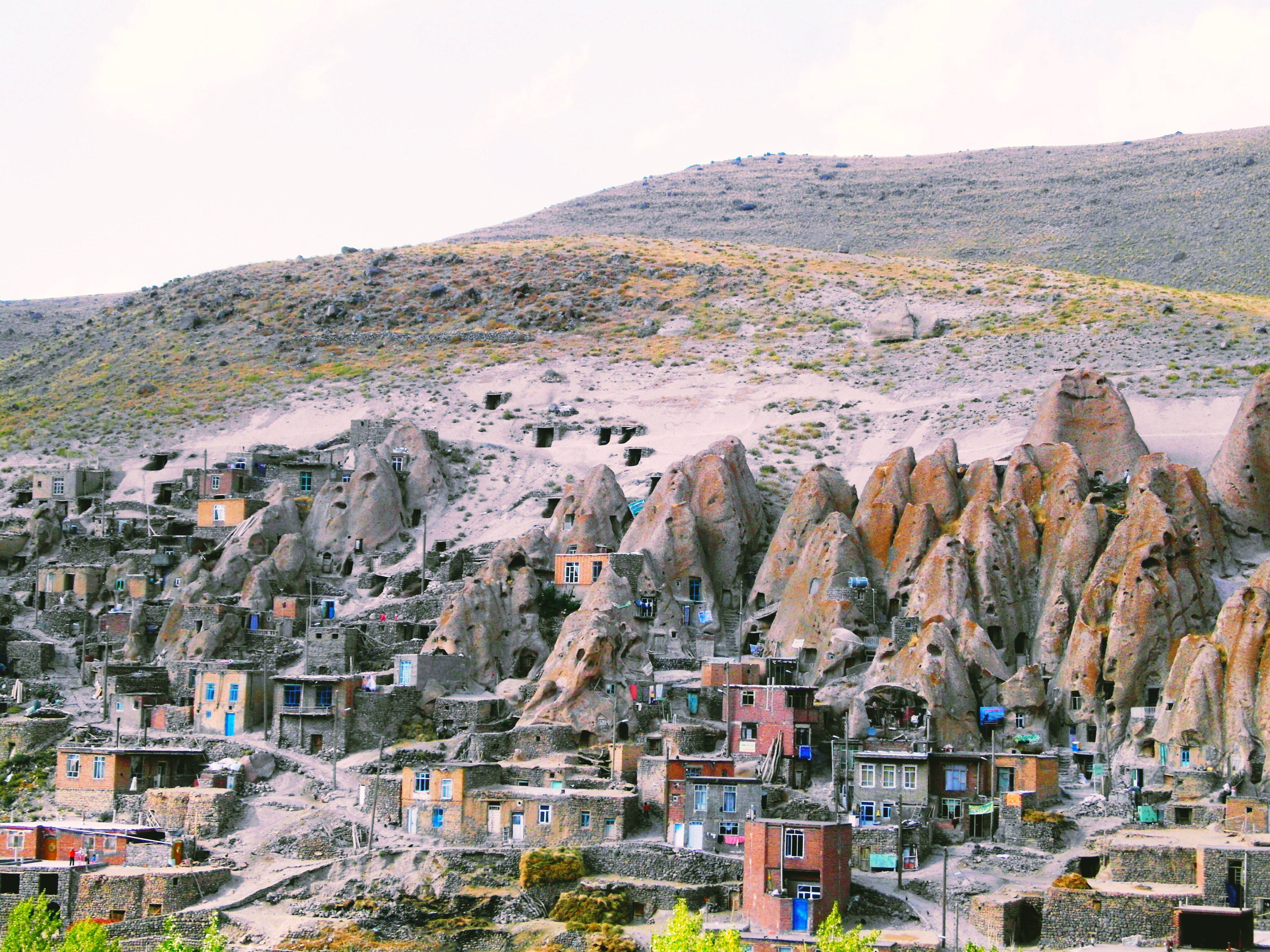 نمایی کامل از روستای کندوان