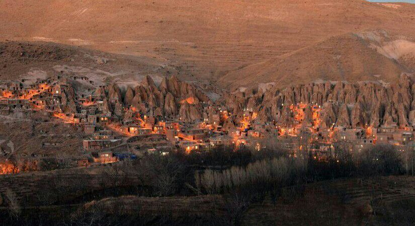 تنها روستای صخرهای ایران و جهان؛ کندوان زیبا
