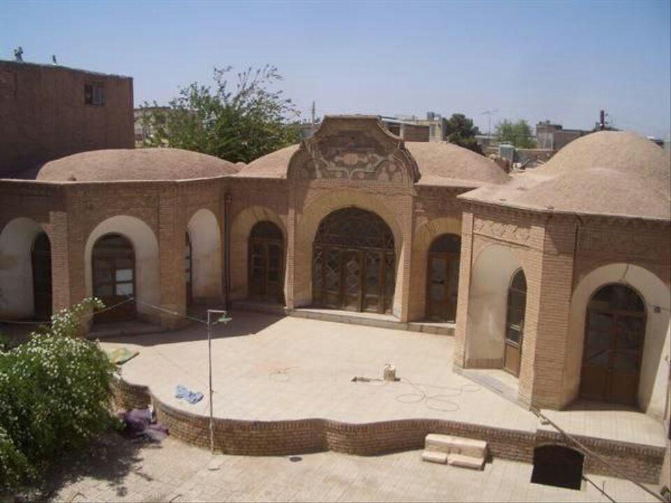 مرمت خانۀ تاریخی غفاری در کرمان