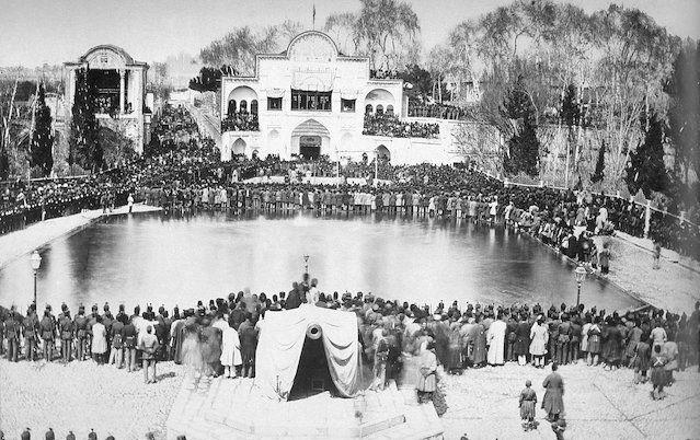 میدان ارگ تهران در زمان قاجار