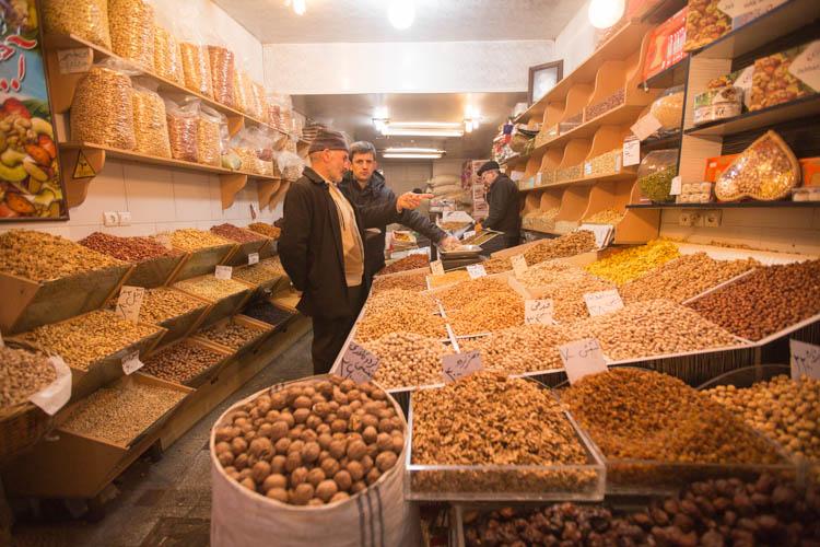 بازار خشکبار تبریز