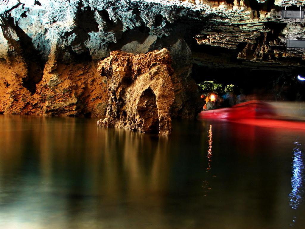 «غار علیصدر» دریاچه درون غار