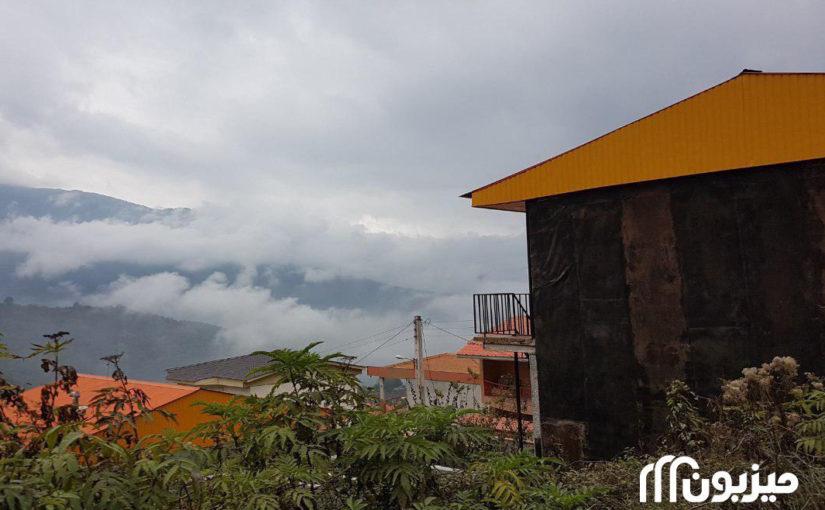 فیلبند بام شرقی مازندران در میان ابرها