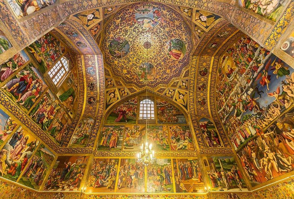 کلیسای وانک ؛ عرصۀ تجلی هنر در اصفهان، جذاب برای گردشگران