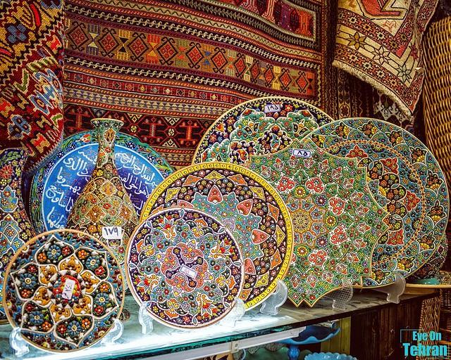 سفال از صنایع دستی یزد