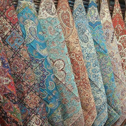 ترمه از صنایع دستی یزد