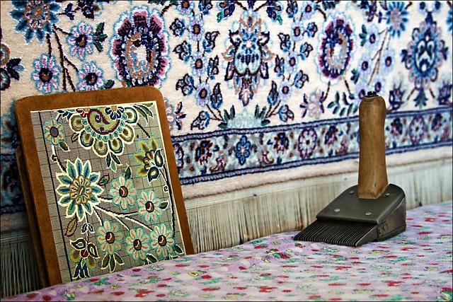 هنر فرشبافی در یزد