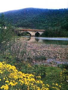 پل تاریخی شفارود بر رودخانه شفارود
