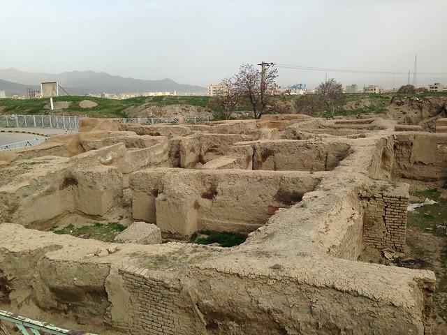 نمایی از شهر تاریخی هگمتانه