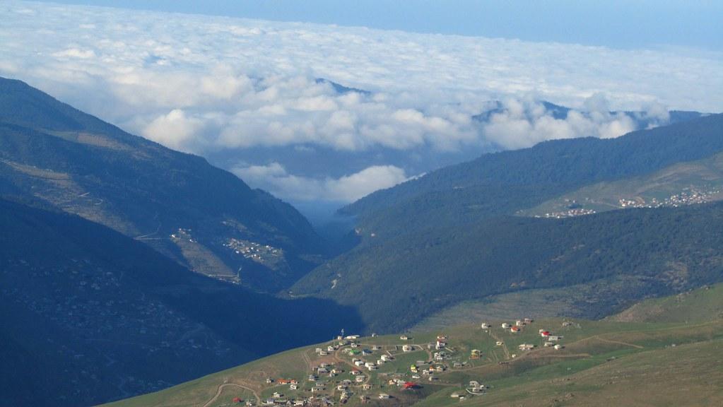 نمایی دور از روستای یوش