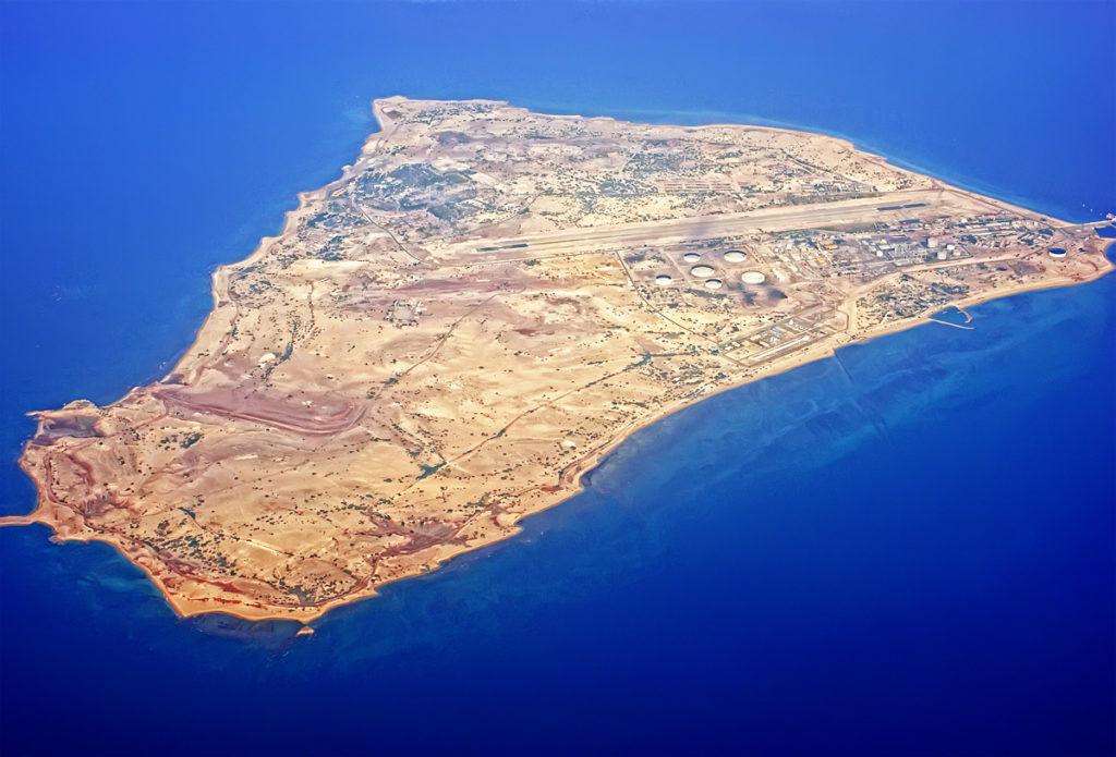 جزیره سیری بر پهنۀ خلیج فارس
