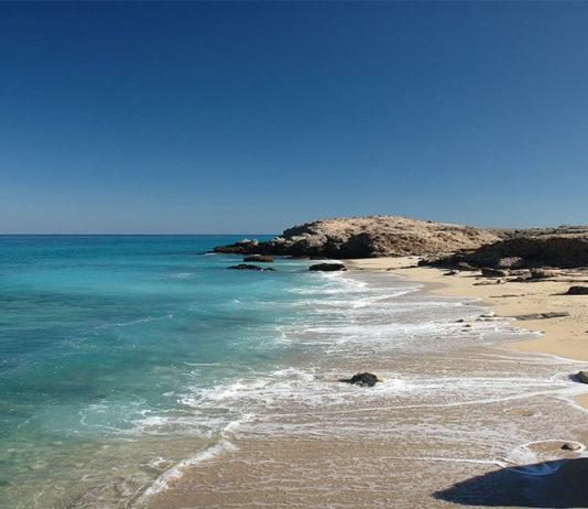 جزیره سیری بر پهنۀ نیلگون خلیج فارس