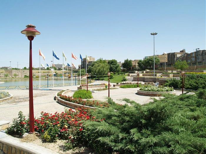 شهربازی پارک وحدت در شهر مشهد
