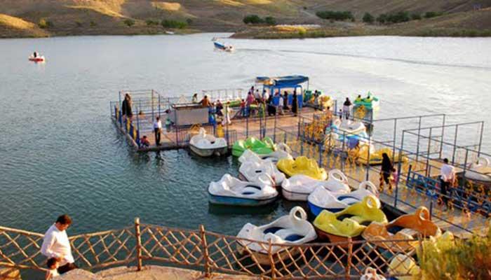 مجموعۀ تفریحی چالیدره در شهر مشهد