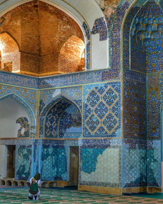 مسجد کبود در شهر تبریز