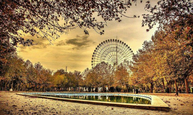 شهربازی پارک ملت در شهر مشهد
