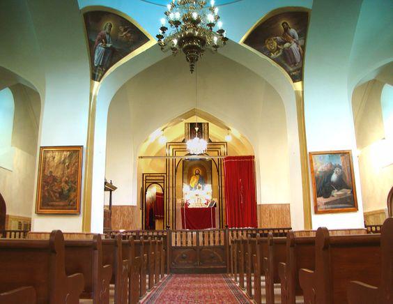 کلیسای مریم مقدس در شهر تبریز