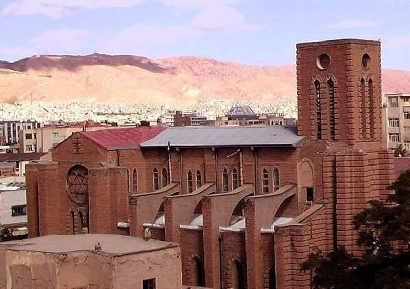 کلیسای کاتولیکها در شهر تبریز
