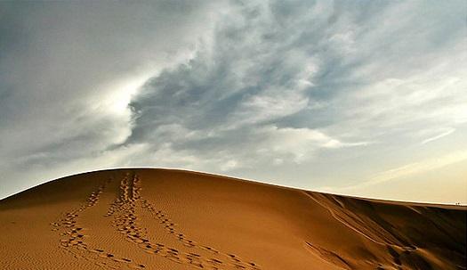 کویر قوم تپه در حوالی تبریز