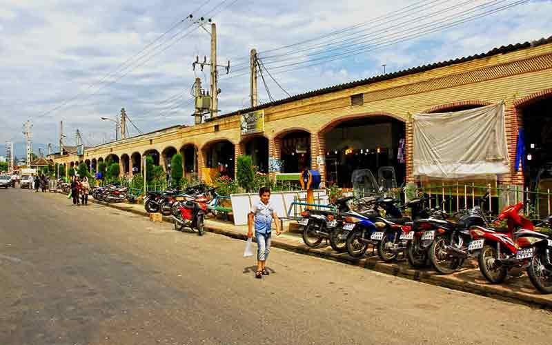 بازار بزرگ ساحلی آستارا