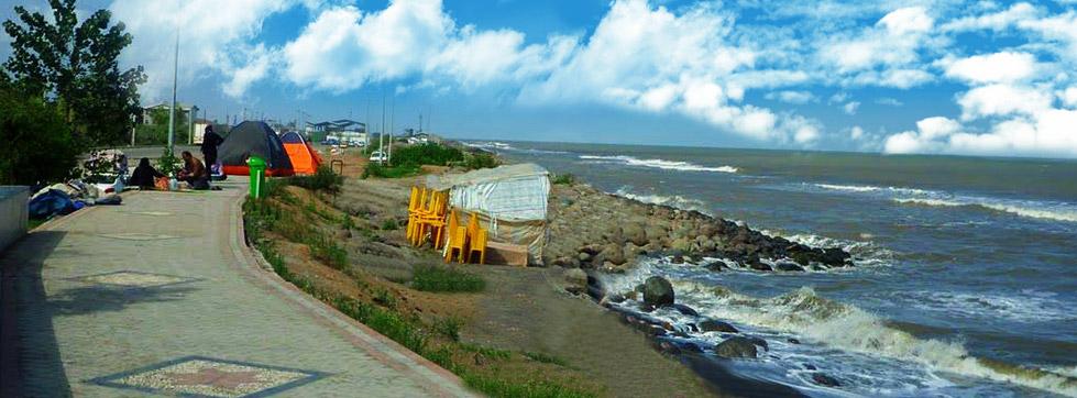 پارک ساحلی شریعتی در آستارا