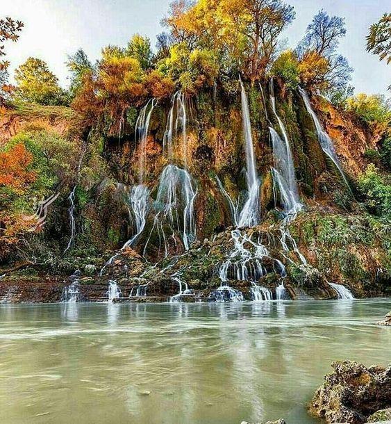 آبشار بیشه در حوالی شهر خرمآباد