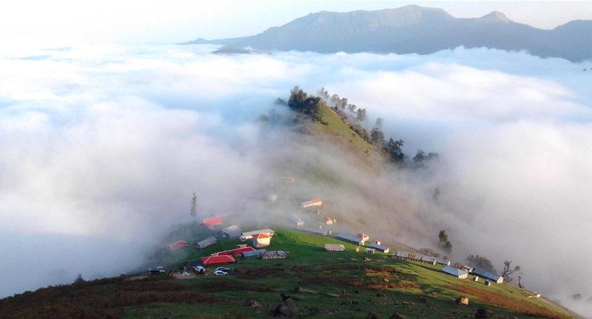 روستای اولسبلنگاه در حوالی شهر ماسال