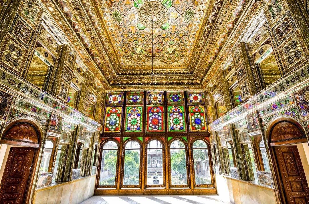 دیدار از خانه زینتالملوک یکی از خانههای تاریخی در شهر شیراز