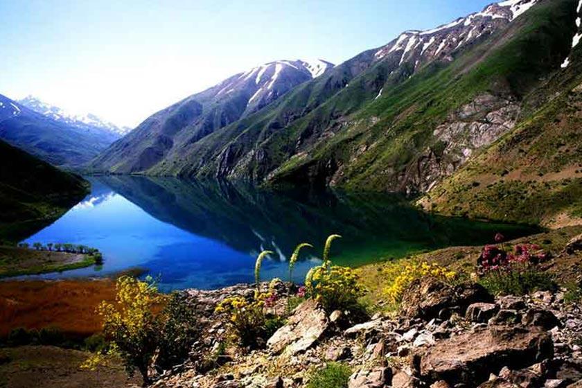دریاچه گهر در قلب اشترانکوه