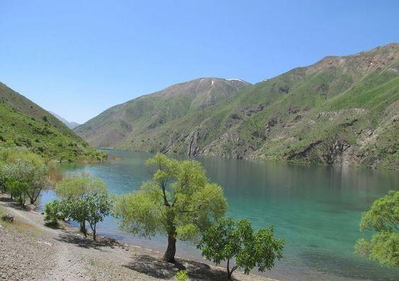 دریاچه گهر در حوالی شهر خرمآباد