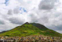 کوه آربابا نماد شهر بانه