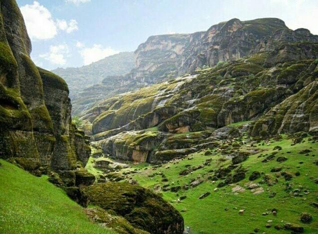 مخمل کوه در استان لرستان