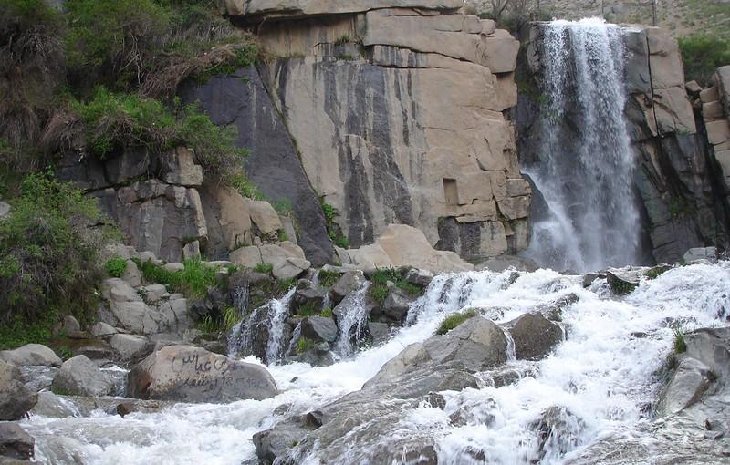 آبشار زیبای گنجنامه