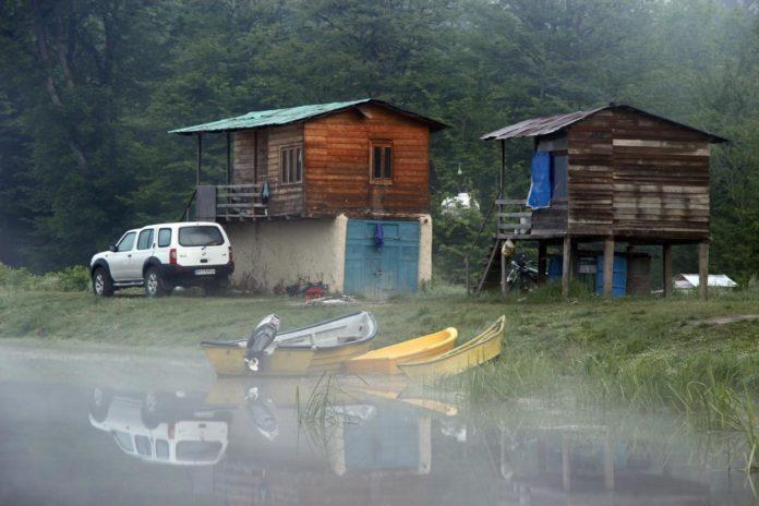 دریاچه الندان در حوالی شهر ساری در استان مازندران
