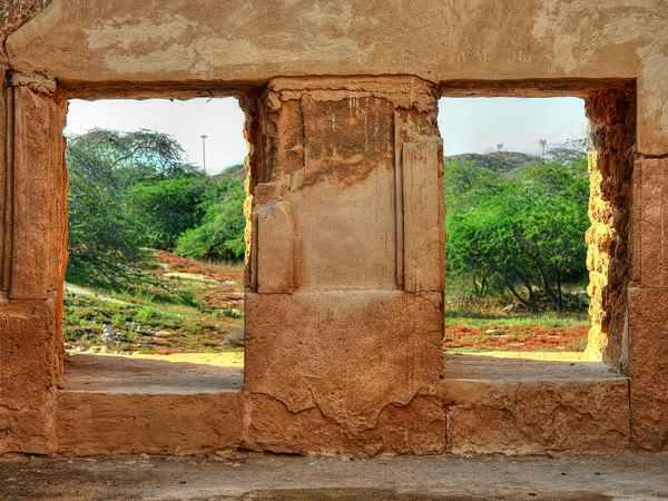 پایاب باستانی در جزیرۀ کیش