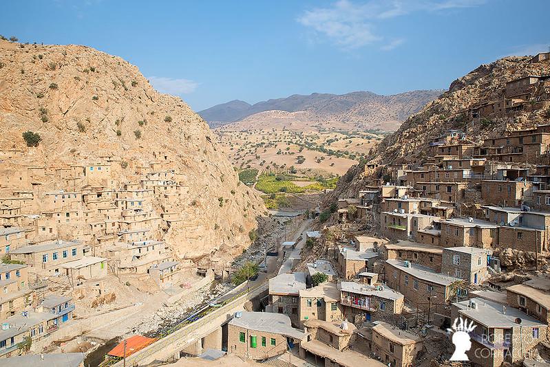 روستای پلکانی پالنگان در استان کردستان