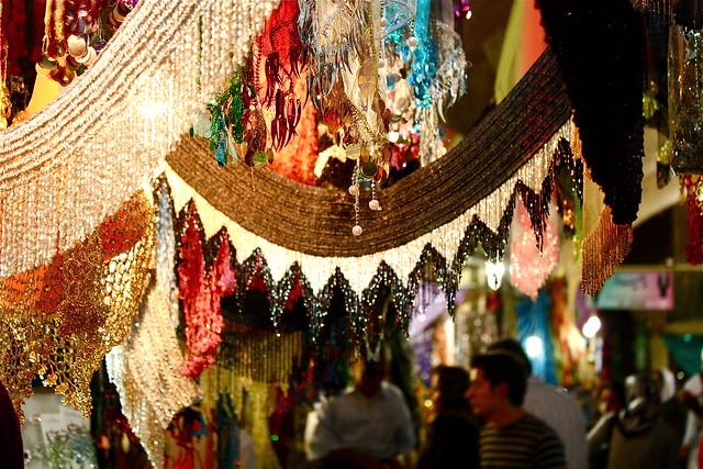 بازار قدیمی سنندج در استان کردستان