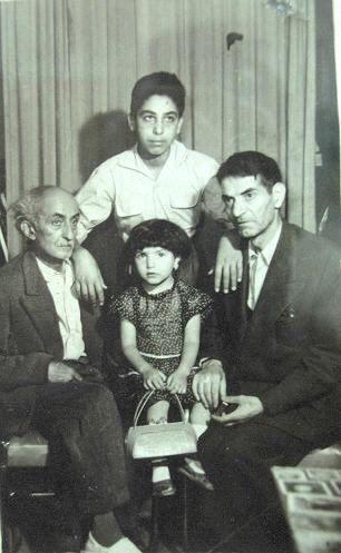 نیما یوشیج و استاد شهریار در کنار هم