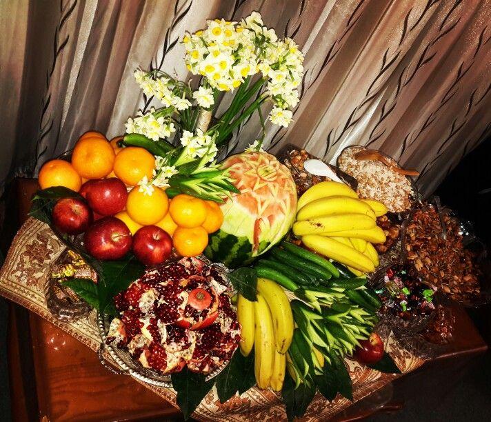 میوههای مخصوص برای مراسم شب یلدا